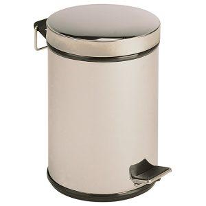 BALDE BA12 com tampa e pedal concebido para depositar os resíduos.