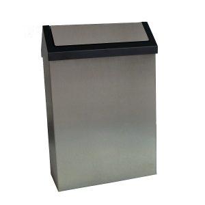PAPELEIRAS 20 / 25 / 30 LT. COM TAMPA basculante concebida para depositar os resíduos.
