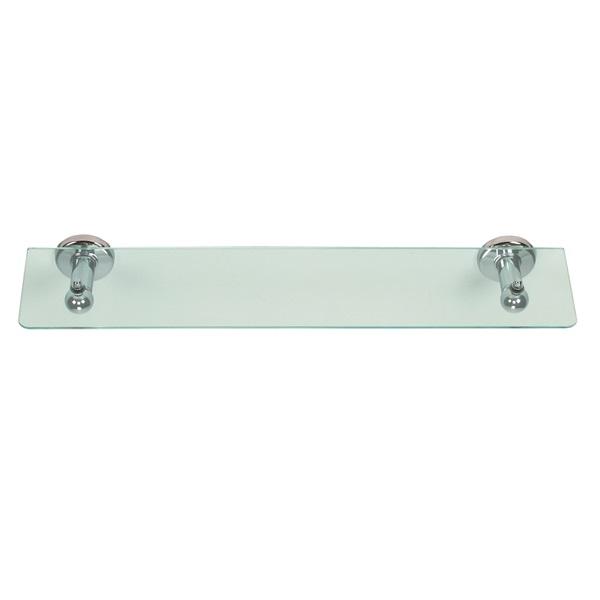 Prateleira cristal concebida para organizar e decorar a sua sala de banho.